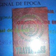 Coleccionismo deportivo: (F-181172)CARNET JUEGOS OLIMPICOS LONDRES 1948 DE ANDRES ZOLYOMY ENTRENADOR WATERPOLO ESPAÑA. Lote 140976522