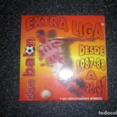 Coleccionismo deportivo: CD DON BALÓN EXTRA LIGA 87/88 A 96/97 + APÉNDICES. Lote 141243874
