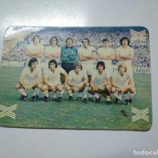 Coleccionismo deportivo: CARTA TARJETA LA QUINIELA DE LA SUERTE. 1X2. REAL MADRID. TDKP13. Lote 141849310