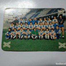 Coleccionismo deportivo: CARTA TARJETA LA QUINIELA DE LA SUERTE. 1X2. R.C.D. ESPANYOL. ESPAÑOL DE BARCELONA. TDKP13. Lote 141849534