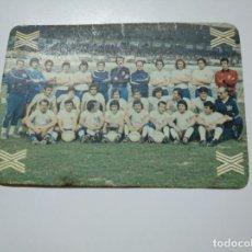 Coleccionismo deportivo: CARTA TARJETA LA QUINIELA DE LA SUERTE. 1X2. REAL ZARAGOZA. TDKP13. Lote 141849630