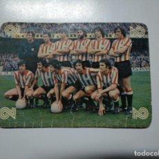 Coleccionismo deportivo: CARTA TARJETA LA QUINIELA DE LA SUERTE. 1X2. ATHLETIC DE BILBAO. TDKP13. Lote 141849894