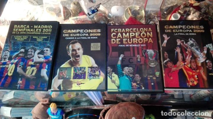 4 DVD BARSA CAMPEONES ETC (Coleccionismo Deportivo - Documentos de Deportes - Otros)