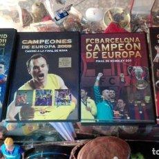 Coleccionismo deportivo: 4 DVD BARSA CAMPEONES ETC. Lote 142153954