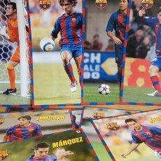 Coleccionismo deportivo: FÚTBOL CLUB BARCELONA / CONJUNTO DE 12 LÁMINA-PÓSTER 25 X 34 CM / MUNDO DEPORTIVO.. Lote 142873454