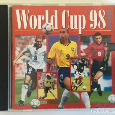 Coleccionismo deportivo: WORLD CUP 98 CD-ROM ENGLAND - AIM. Lote 143146930