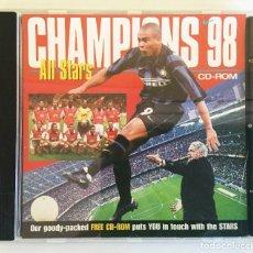 Coleccionismo deportivo: CHAMPIONS 98 ALL STARS CD-ROM ENGLAND - AIM. Lote 143150394