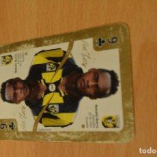 Coleccionismo deportivo: VITESSE 1 DE FUTBOL HOLANDES-SPEELKAARTEN 2012-13 EREDIVISIE.PLUS MARKET. Lote 143183838