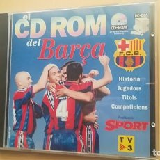 Coleccionismo deportivo: EL CD ROM DEL BARÇA - FUTBOL CLUB BARCELONA. Lote 143194182