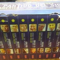 Coleccionismo deportivo: CINTAS VHS FUTBOL EL PARTIDO DEL SIGLO EUROPA AMERICA 10 CINTAS. Lote 143692518