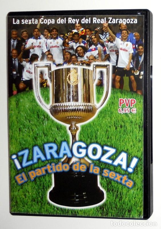 DVD FINAL COPA DEL REY FÚTBOL 2004 - REAL ZARAGOZA CAMPEÓN - REAL ZARAGOZA REAL MADRID MONTJUIC (Coleccionismo Deportivo - Documentos de Deportes - Otros)