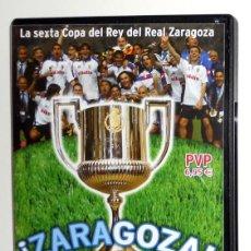 Coleccionismo deportivo: DVD FINAL COPA DEL REY FÚTBOL 2004 - REAL ZARAGOZA CAMPEÓN - REAL ZARAGOZA REAL MADRID MONTJUIC. Lote 155996317