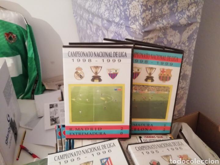 MERIDA, EXTREMADURA. VIDEOS FÚTBOL HISTÓRICOS. LOTE DE 7 DVDS. (Coleccionismo Deportivo - Documentos de Deportes - Otros)