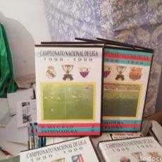Coleccionismo deportivo: MERIDA, EXTREMADURA. VIDEOS FÚTBOL HISTÓRICOS. LOTE DE 7 DVDS.. Lote 144107553