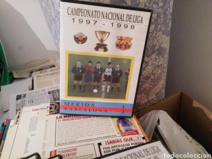Coleccionismo deportivo: Merida, Extremadura. Videos fútbol históricos. Lote de 7 DVDS. - Foto 2 - 144107553