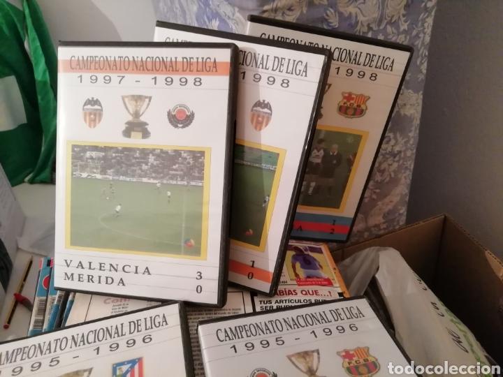 Coleccionismo deportivo: Merida, Extremadura. Videos fútbol históricos. Lote de 7 DVDS. - Foto 4 - 144107553