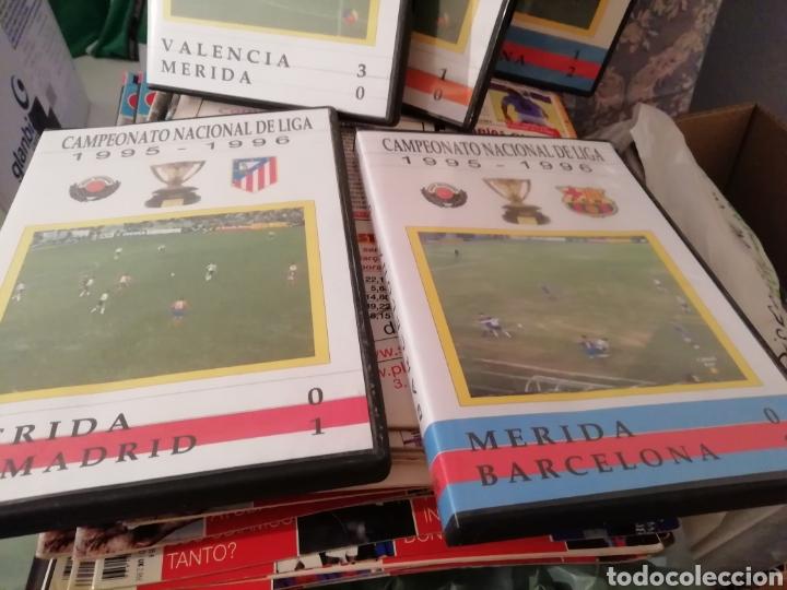 Coleccionismo deportivo: Merida, Extremadura. Videos fútbol históricos. Lote de 7 DVDS. - Foto 5 - 144107553