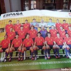 Coleccionismo deportivo: VIDEOTECA SELECCIÓN ESPAÑA . 50 PARTIDOS HISTÓRICOS FUTBOL. 1930 A HOY.. Lote 144746570