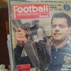 Coleccionismo deportivo: FÚTBOL. FINALES MUNDIALES Y EUROCOPS. TODAS - 32 DVDS EN LOTE. Lote 144746732