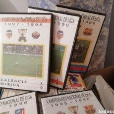 Coleccionismo deportivo: EL CLÁSICO REAL MADRID BARCELONA. 1990 - 2000. LOTE 20 DVDS.. Lote 144746773