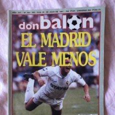 Coleccionismo deportivo: DON BALON Nº 822 REAL MADRID HUGO SANCHEZ SANTAMARIA BUTRAGUEÑO. Lote 145251338