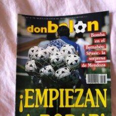 Coleccionismo deportivo: DON BALON N: 770 - EMPIEZAN A RODAR (1990). Lote 145251446