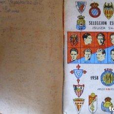 Coleccionismo deportivo: ANTIGUO ANUARIO DINÁMICO DE FÚTBOL 1958 1959 CALENDARIO LIGA. Lote 145332226