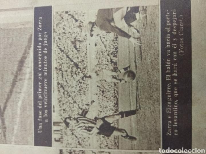 Coleccionismo deportivo: ATLETICO DE BILBAO CAMPEON Copa Generalisimo 1944 Marca COMPLETO REPORTAJE FOTOGRÁFICO Athletic - Foto 2 - 145363077