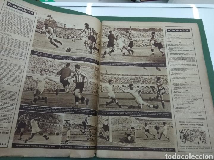 Coleccionismo deportivo: ATLETICO DE BILBAO CAMPEON Copa Generalisimo 1944 Marca COMPLETO REPORTAJE FOTOGRÁFICO Athletic - Foto 3 - 145363077