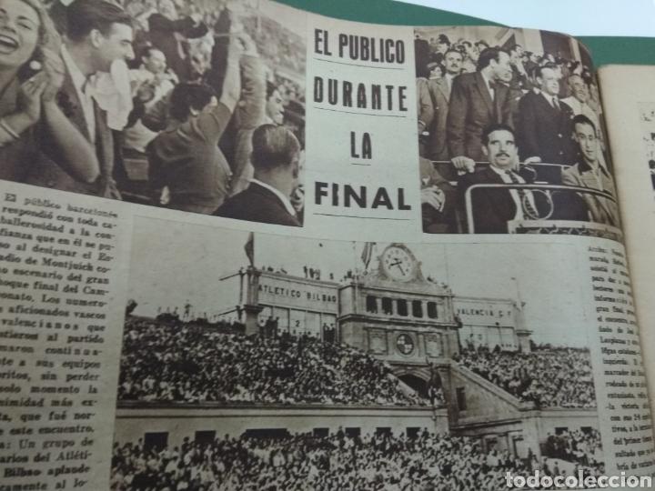 Coleccionismo deportivo: ATLETICO DE BILBAO CAMPEON Copa Generalisimo 1944 Marca COMPLETO REPORTAJE FOTOGRÁFICO Athletic - Foto 4 - 145363077