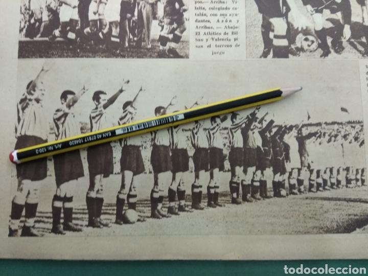 Coleccionismo deportivo: ATLETICO DE BILBAO CAMPEON Copa Generalisimo 1944 Marca COMPLETO REPORTAJE FOTOGRÁFICO Athletic - Foto 5 - 145363077