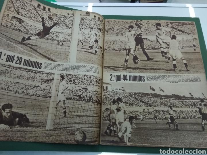 Coleccionismo deportivo: ATLETICO DE BILBAO CAMPEON Copa Generalisimo 1944 Marca COMPLETO REPORTAJE FOTOGRÁFICO Athletic - Foto 6 - 145363077