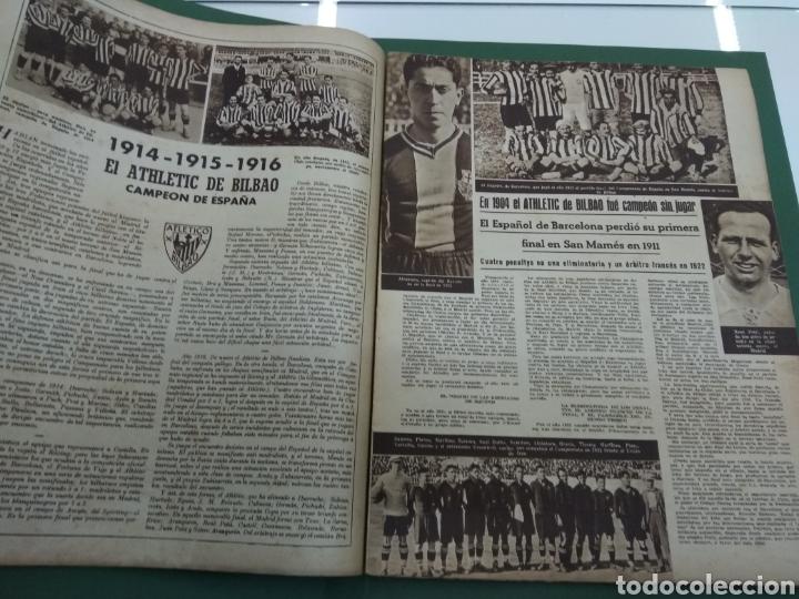 Coleccionismo deportivo: ATLETICO DE BILBAO CAMPEON Copa Generalisimo 1944 Marca COMPLETO REPORTAJE FOTOGRÁFICO Athletic - Foto 9 - 145363077