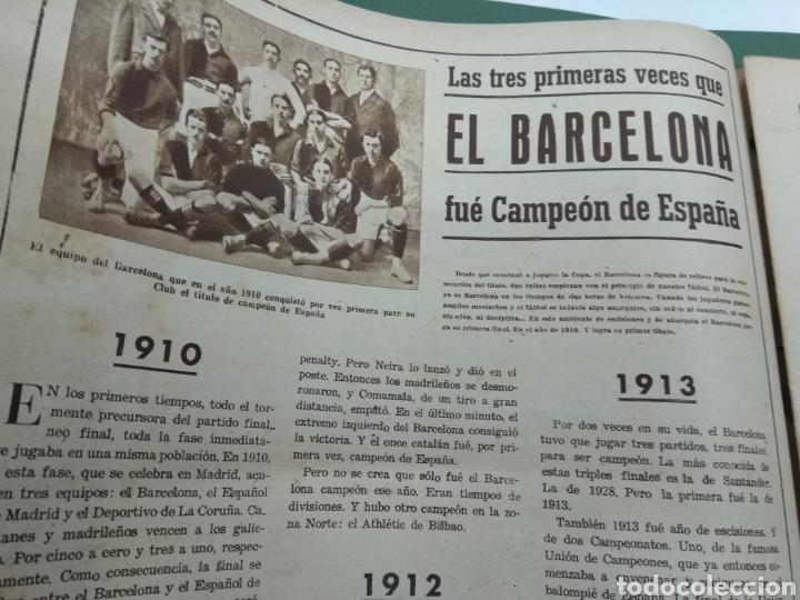 Coleccionismo deportivo: ATLETICO DE BILBAO CAMPEON Copa Generalisimo 1944 Marca COMPLETO REPORTAJE FOTOGRÁFICO Athletic - Foto 10 - 145363077