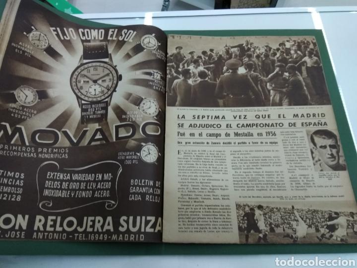Coleccionismo deportivo: ATLETICO DE BILBAO CAMPEON Copa Generalisimo 1944 Marca COMPLETO REPORTAJE FOTOGRÁFICO Athletic - Foto 11 - 145363077
