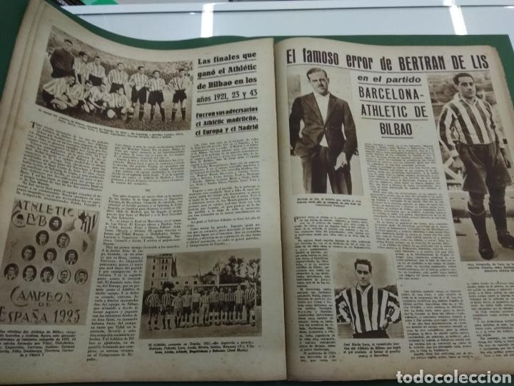 Coleccionismo deportivo: ATLETICO DE BILBAO CAMPEON Copa Generalisimo 1944 Marca COMPLETO REPORTAJE FOTOGRÁFICO Athletic - Foto 14 - 145363077
