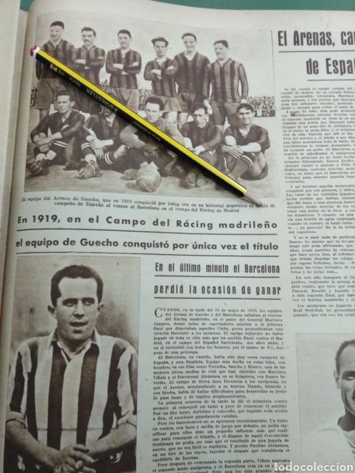 Coleccionismo deportivo: ATLETICO DE BILBAO CAMPEON Copa Generalisimo 1944 Marca COMPLETO REPORTAJE FOTOGRÁFICO Athletic - Foto 15 - 145363077