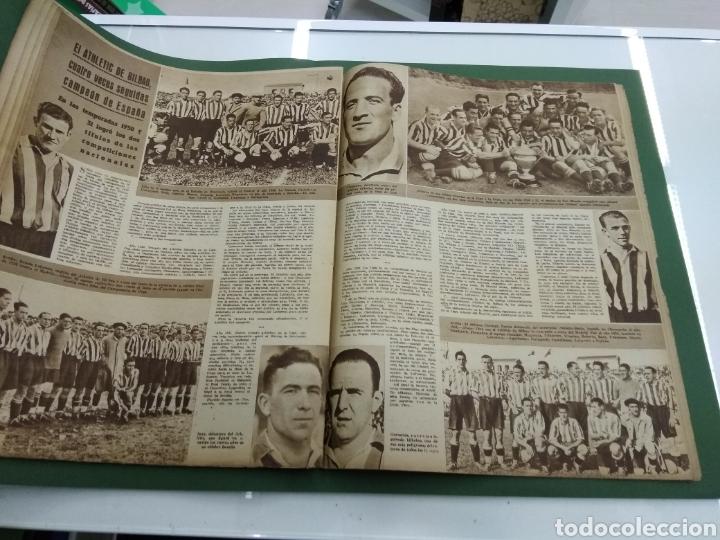 Coleccionismo deportivo: ATLETICO DE BILBAO CAMPEON Copa Generalisimo 1944 Marca COMPLETO REPORTAJE FOTOGRÁFICO Athletic - Foto 16 - 145363077
