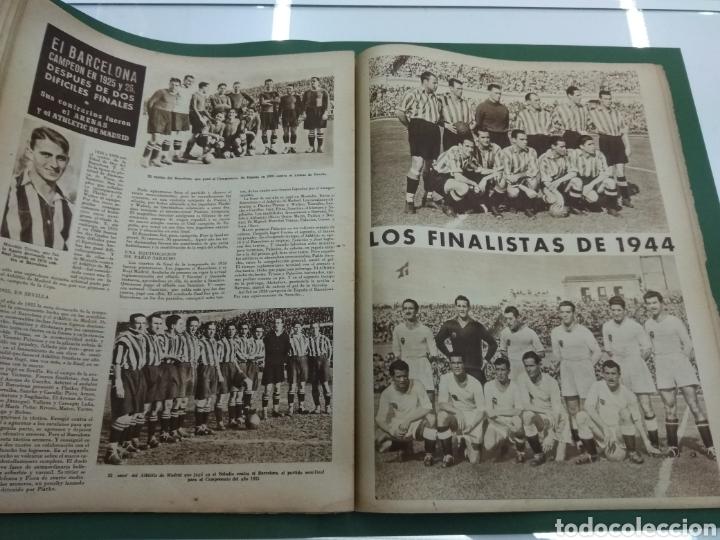 Coleccionismo deportivo: ATLETICO DE BILBAO CAMPEON Copa Generalisimo 1944 Marca COMPLETO REPORTAJE FOTOGRÁFICO Athletic - Foto 17 - 145363077