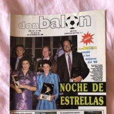 Coleccionismo deportivo: DON BALON Nº 688: NOCHE DE ESTRELLAS, VIOLENCIA EN NUESTRO FUTBOL, GOIKOETXEA AL BARÇA. Lote 145251478
