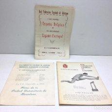 Coleccionismo deportivo: LOTE DOCUMENTOS REAL FEDERACION ESPAÑOLA DE ATLETISMO - AÑO 1957 - 1964 - AÑOS 60 . Lote 145916486