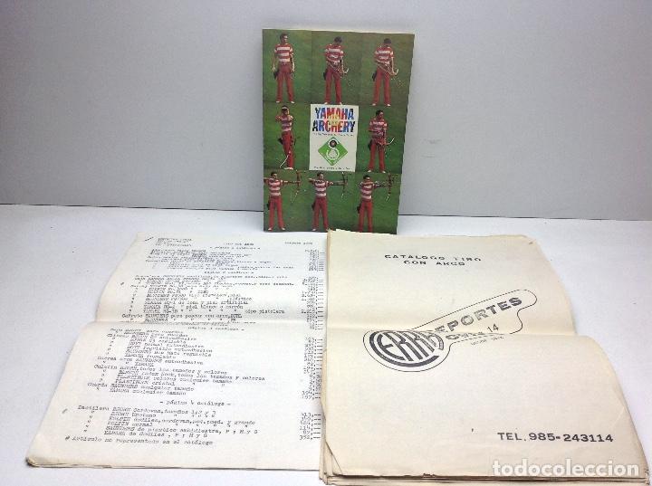 CATALOGO DEPORTES CERRA OVIEDO - ARCO DE TIRO YAMAHA ARCHERY (Coleccionismo Deportivo - Documentos de Deportes - Otros)