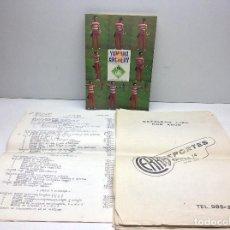 Coleccionismo deportivo: CATALOGO DEPORTES CERRA OVIEDO - ARCO DE TIRO YAMAHA ARCHERY. Lote 145917150