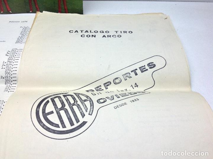 Coleccionismo deportivo: CATALOGO DEPORTES CERRA OVIEDO - ARCO DE TIRO YAMAHA ARCHERY - Foto 2 - 145917150