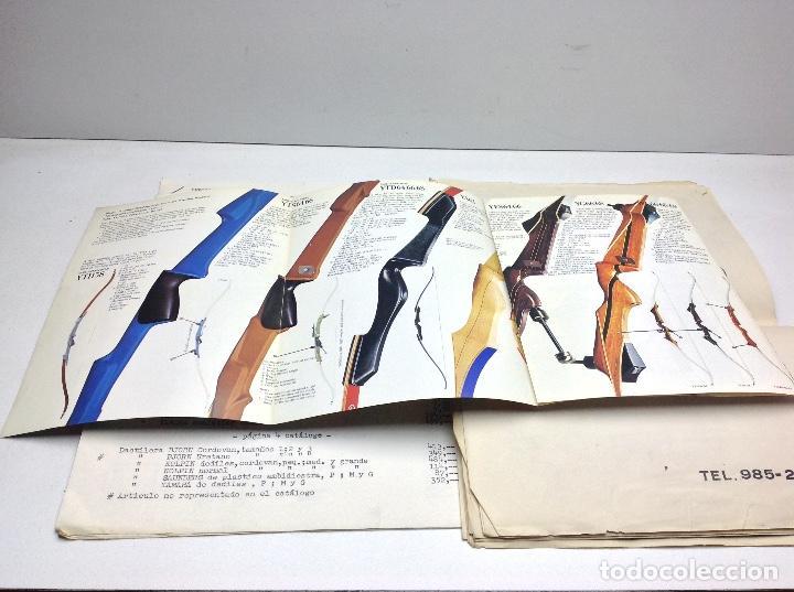 Coleccionismo deportivo: CATALOGO DEPORTES CERRA OVIEDO - ARCO DE TIRO YAMAHA ARCHERY - Foto 5 - 145917150