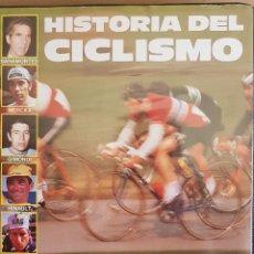 Coleccionismo deportivo: HISTORIA DEL CICLISMO / 90 AÑOS SOBRE DOS RUEDAS / 2 VHS - METROVIDEO - 1989 / COMO NUEVOS.. Lote 145958594