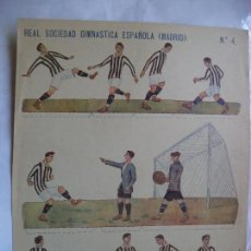 Coleccionismo deportivo: REAL SOCIEDAD GIMNASTICA ESPAÑOLA (MADRID) 25X32 CM EDITORIAL HERNANDO ALREDEDOR AÑOS 20 SIGLO PASAD. Lote 146513118