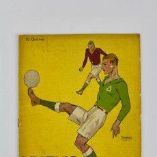Coleccionismo deportivo: FUT-106. REVISTA NUEVO MUNDO .AÑO XXX . NUM 1518.23 DE FEBRERO DE 1923. Lote 147152426