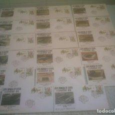 Coleccionismo deportivo: MUNDIAL ESPAÑA 82 17 ESTADIOS -17 SOBRES PRIMER DIA DE CIRCULACION. Lote 147652442