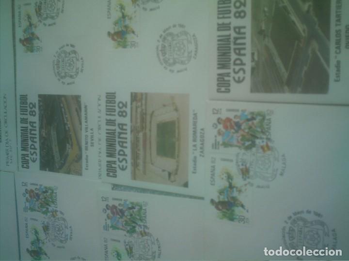 Coleccionismo deportivo: MUNDIAL ESPAÑA 82 17 ESTADIOS -17 SOBRES PRIMER DIA DE CIRCULACION - Foto 7 - 147652442